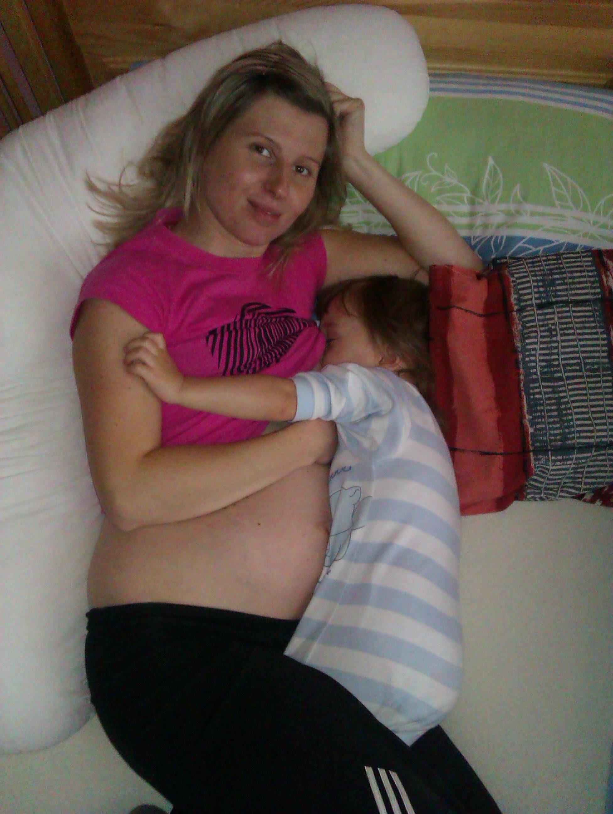 Dojčenie počas tehotenstva